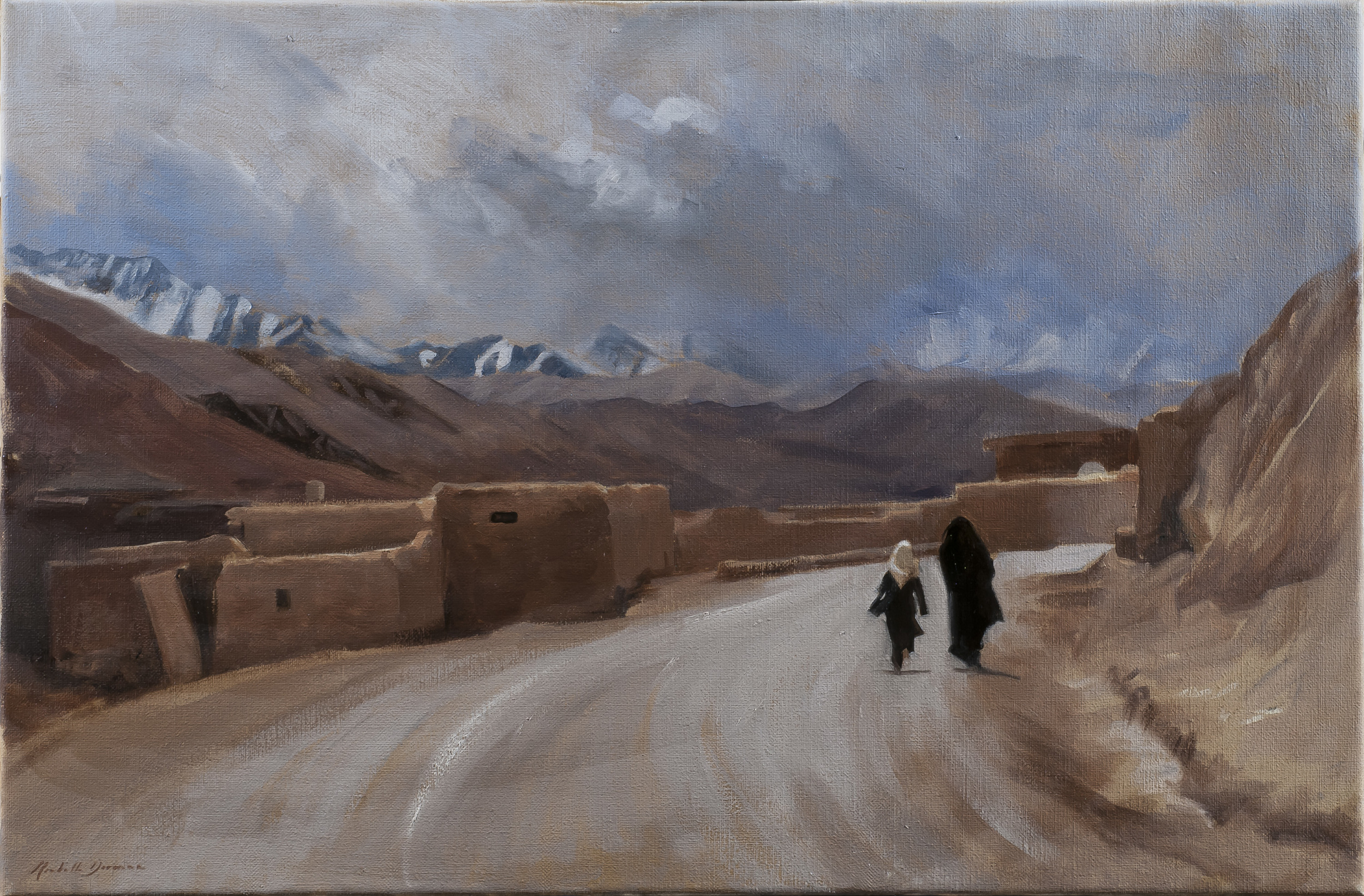 Going to School, 2010, Afghanistan