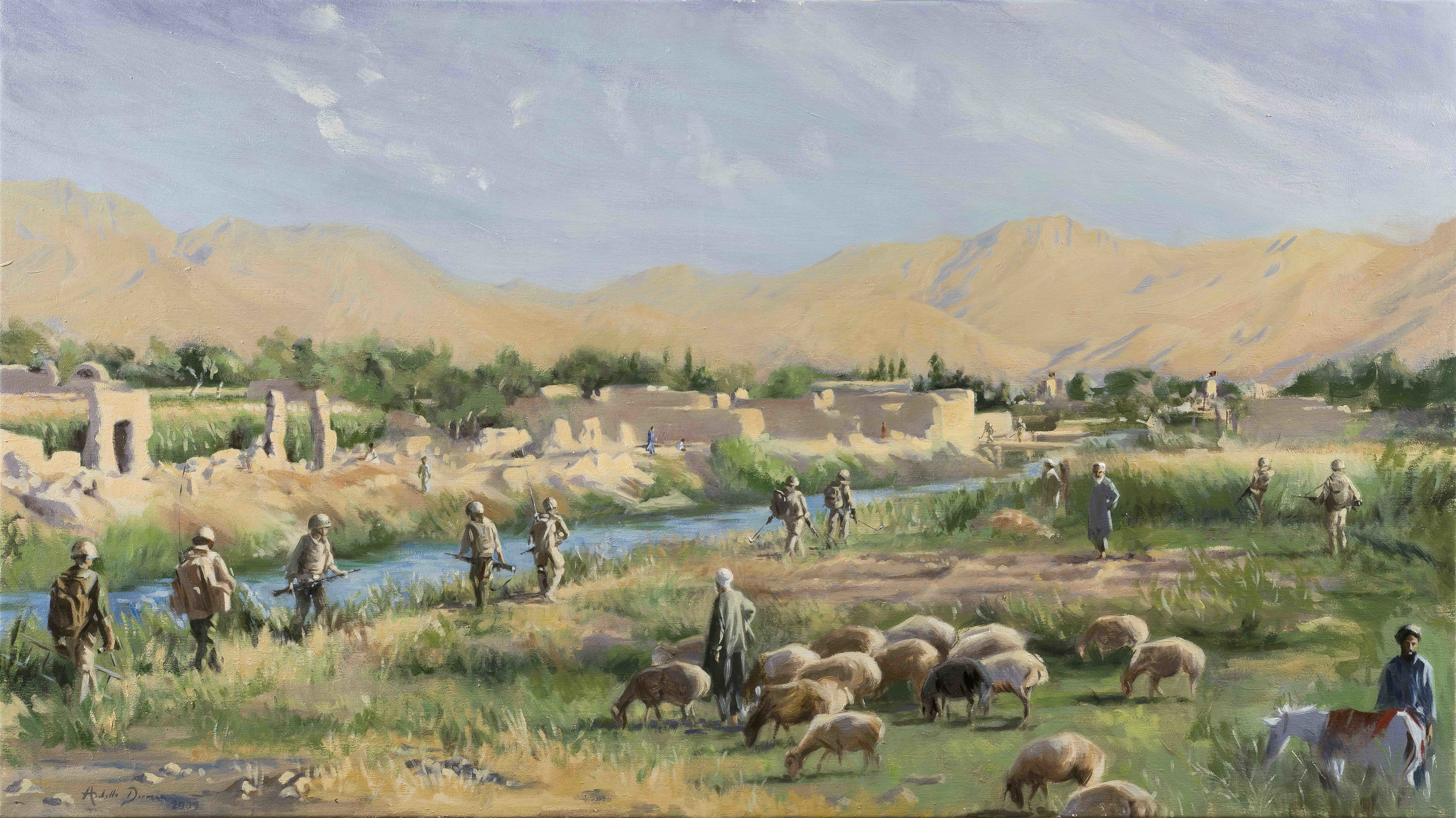 On Patrol, 2 Rifles, Sangin, Afghanistan