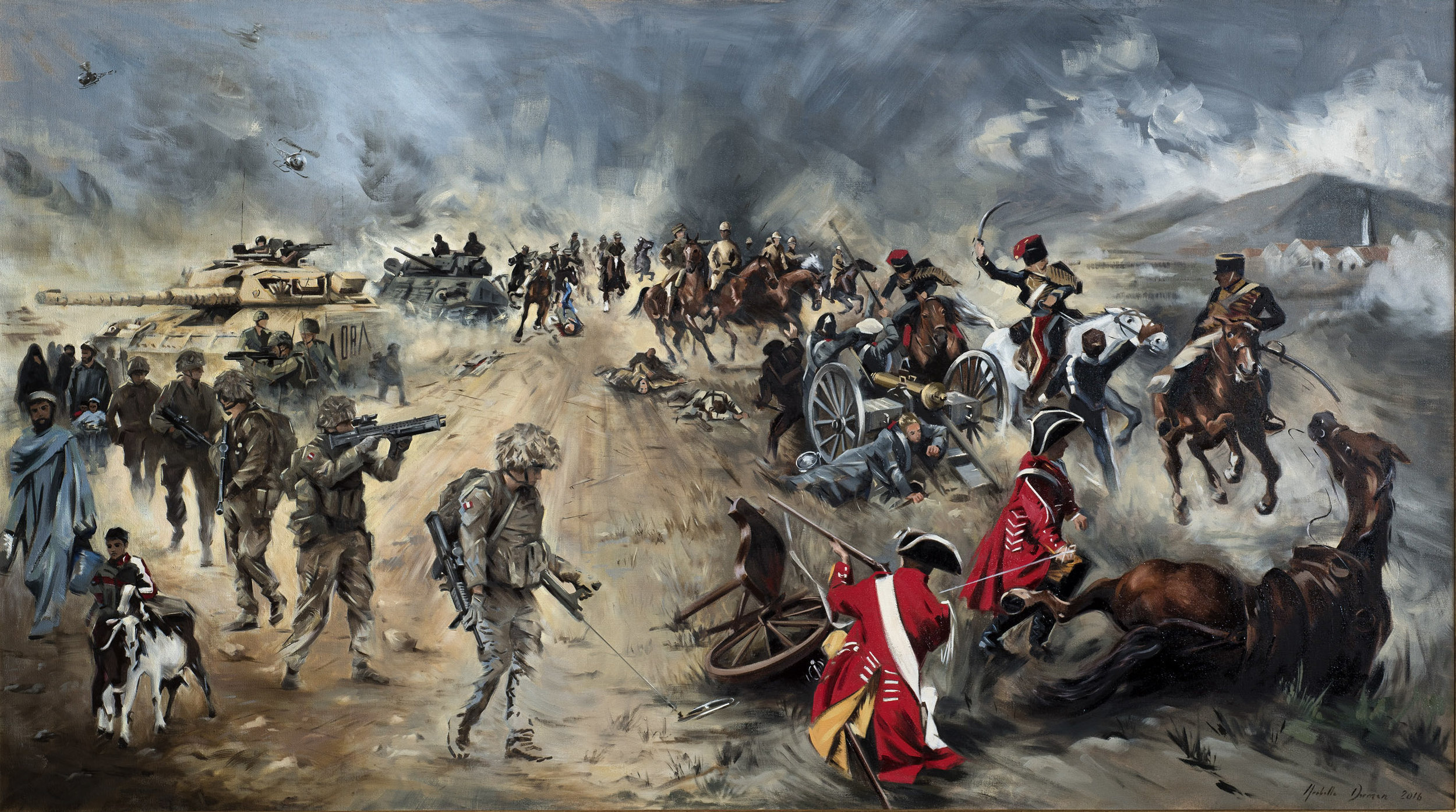 The King's Royal Hussars, 1715 - 2015