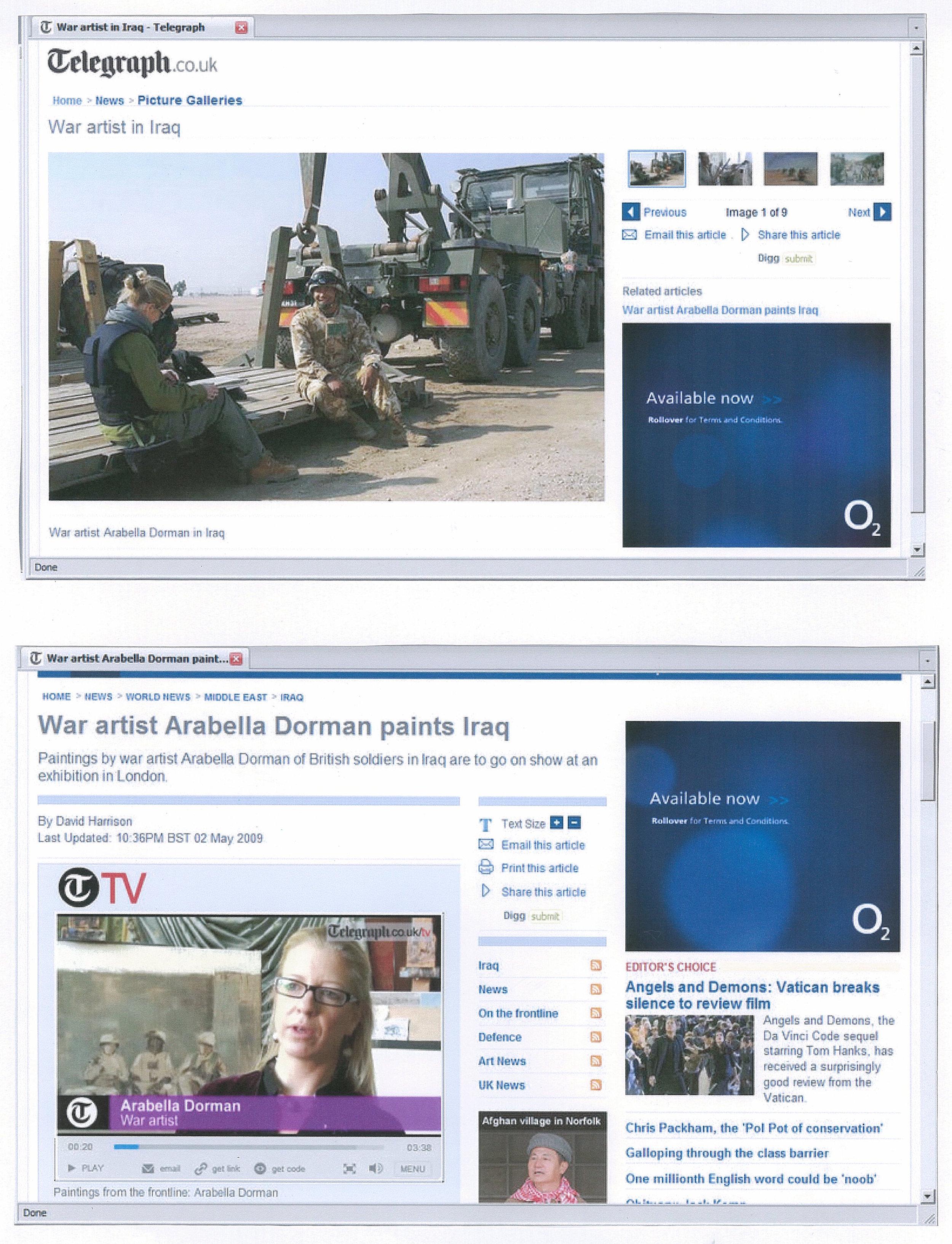 Telegraph.co.uk May 2009.jpg