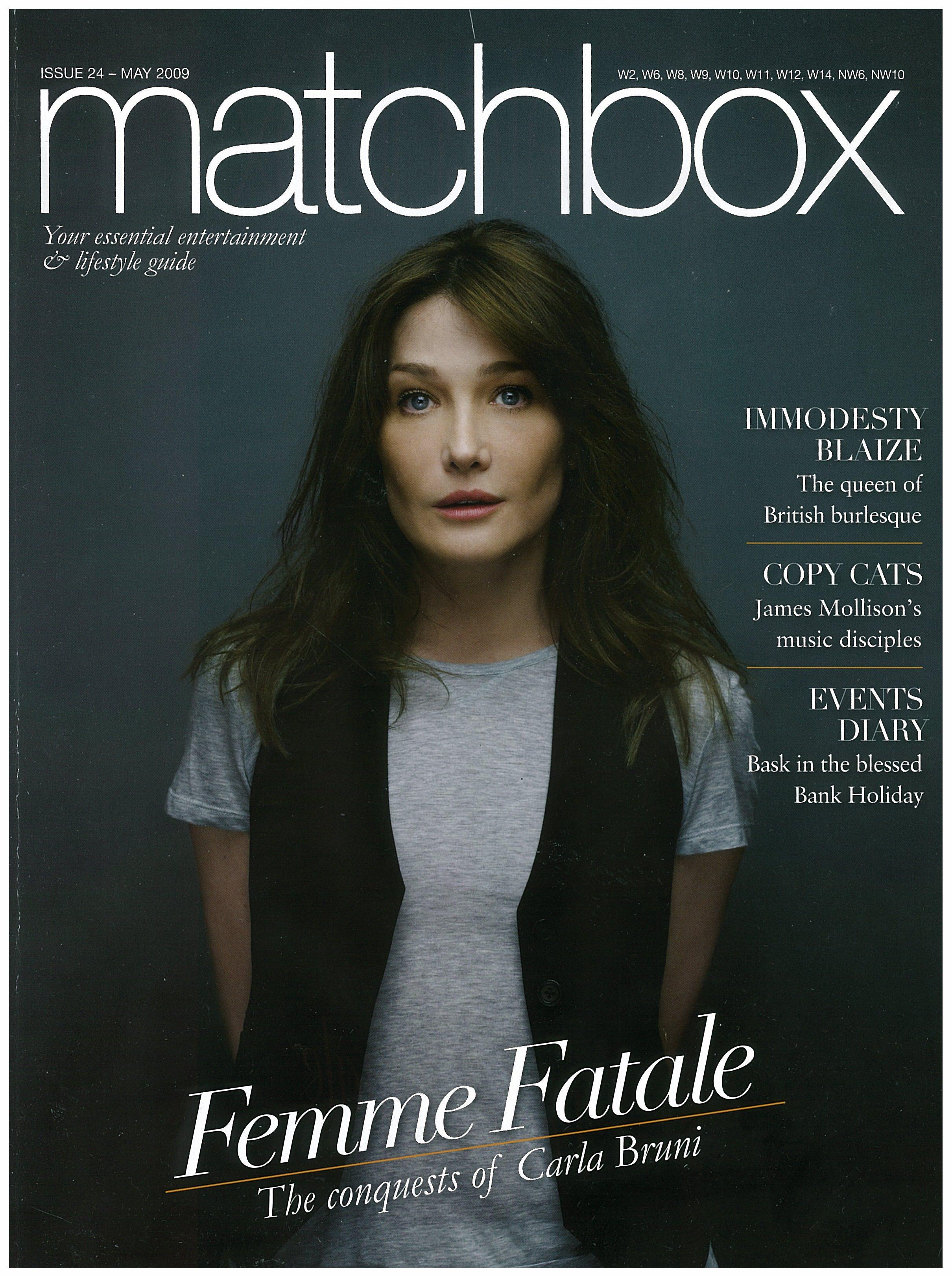 Matchbox Magazine (cover), May 2009.jpg