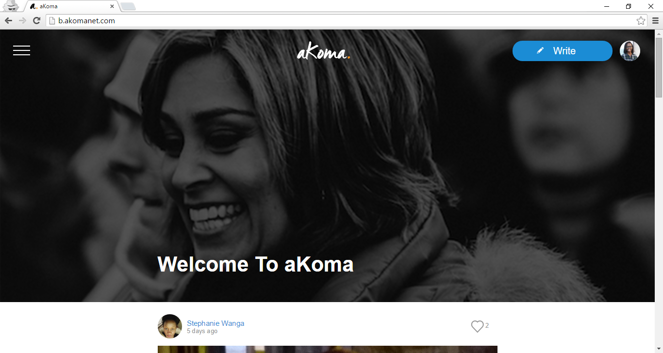 beta home page