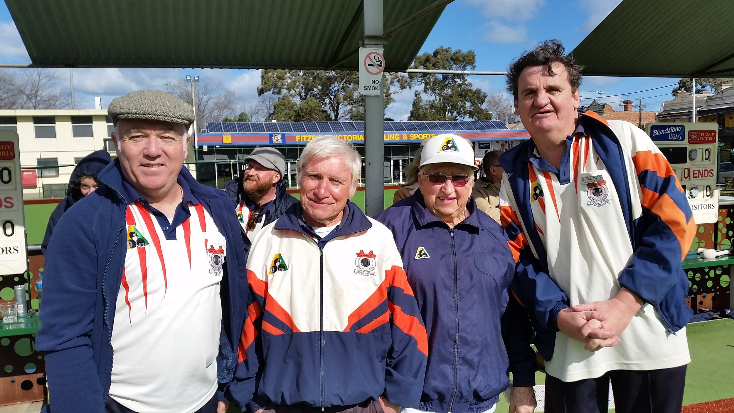 BPL Cup 2017 - Graham, Cliff, Jean and Wayne competing at Fitzroy.