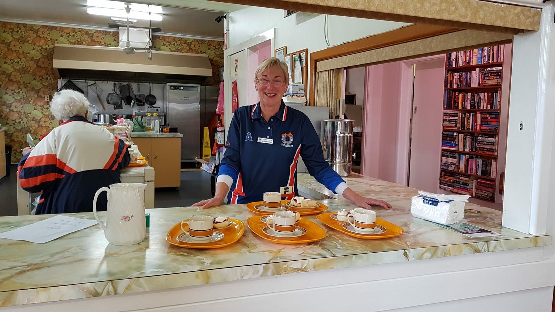 Megan in kitchen.JPG