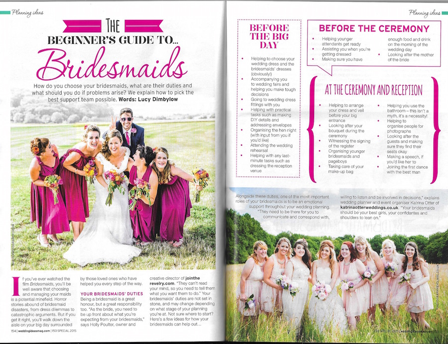 Wedding Ideas magazine - July 2015