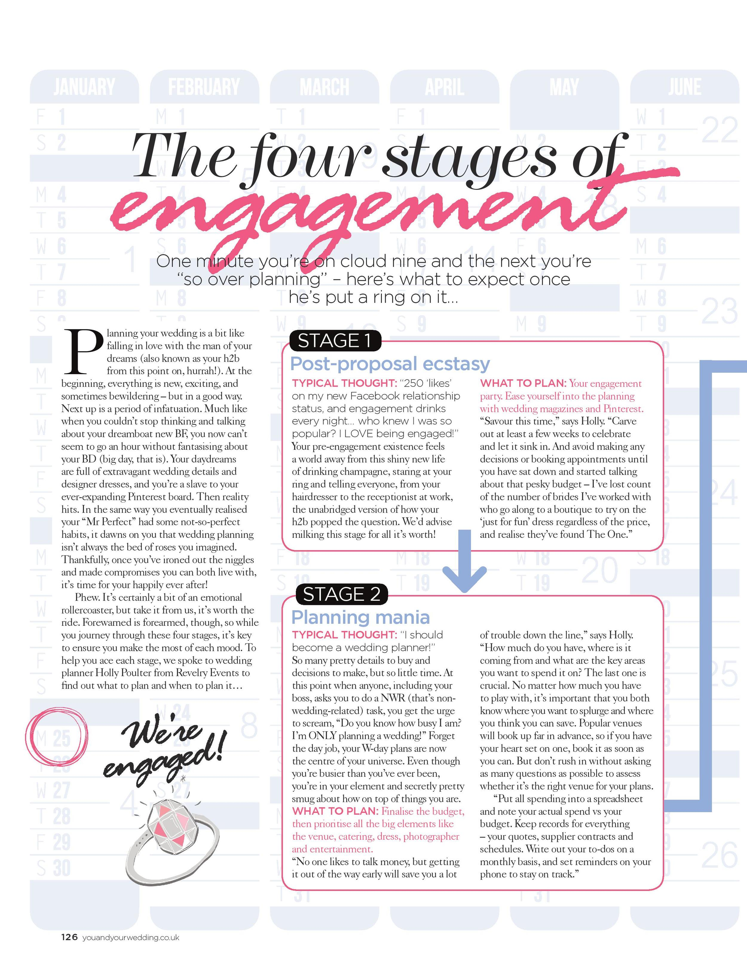 You And Your Wedding Magazine - March/April 2016