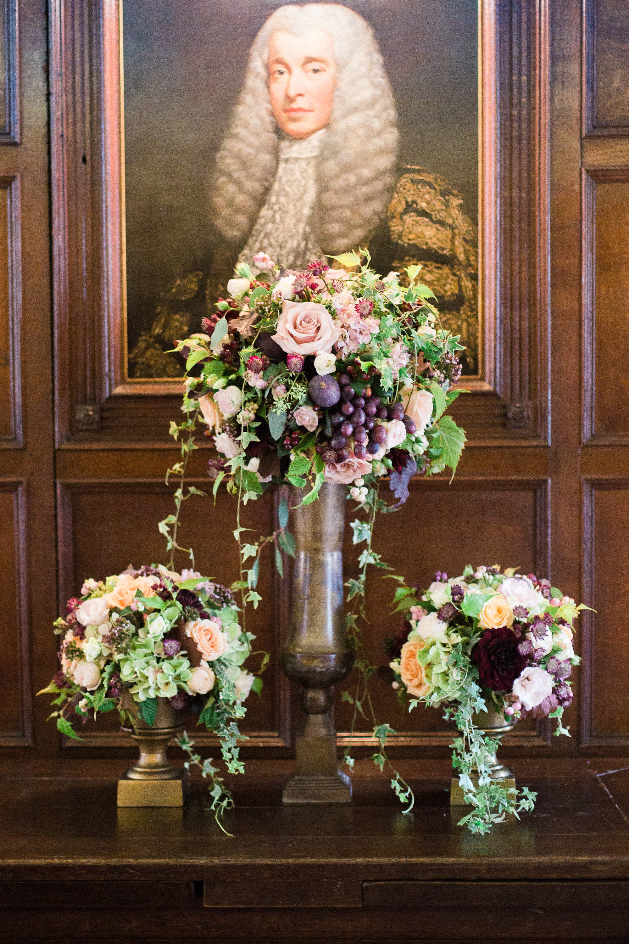floral art formal venue wedding
