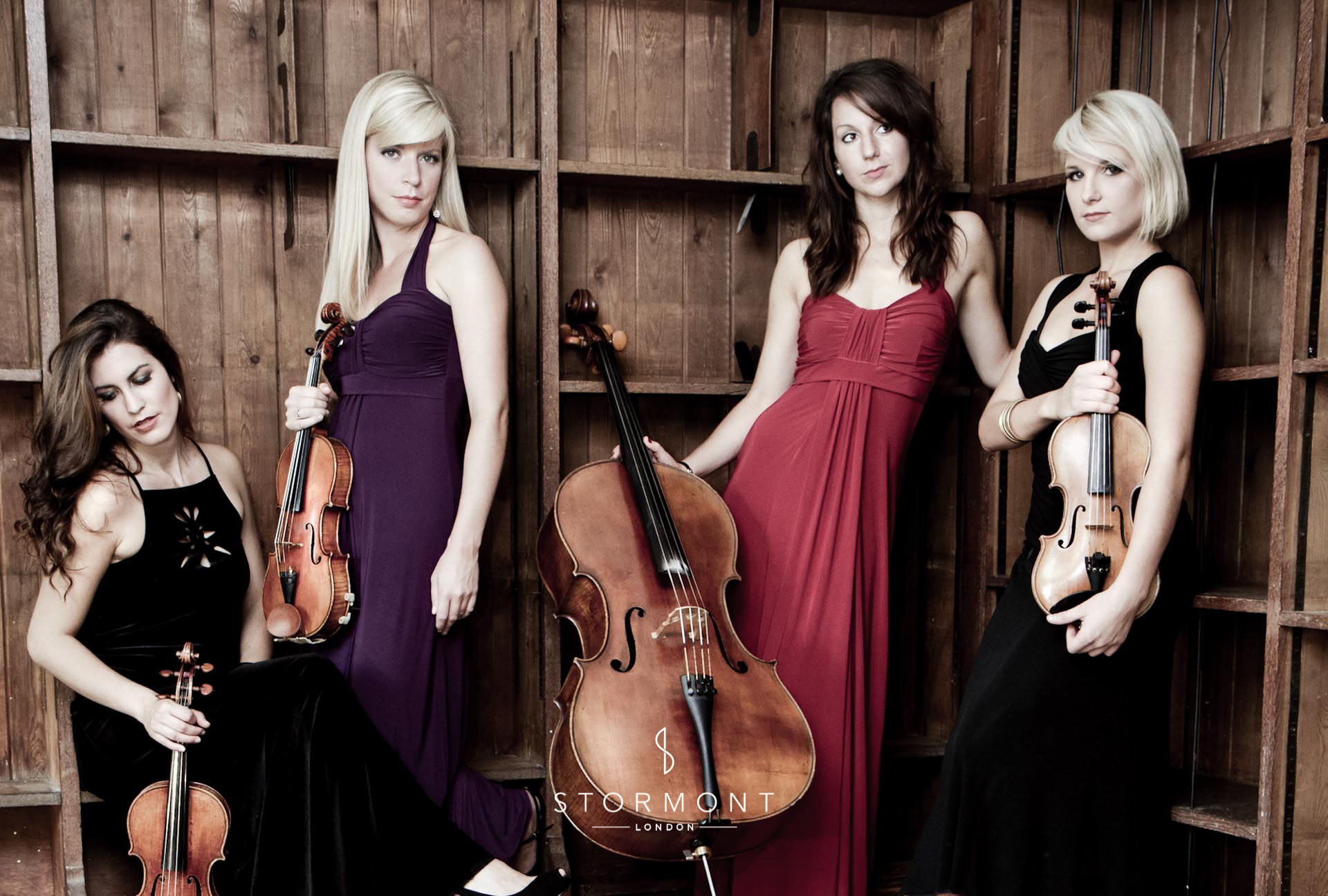 Stormont London — Strings of Grace, wedding string quartet