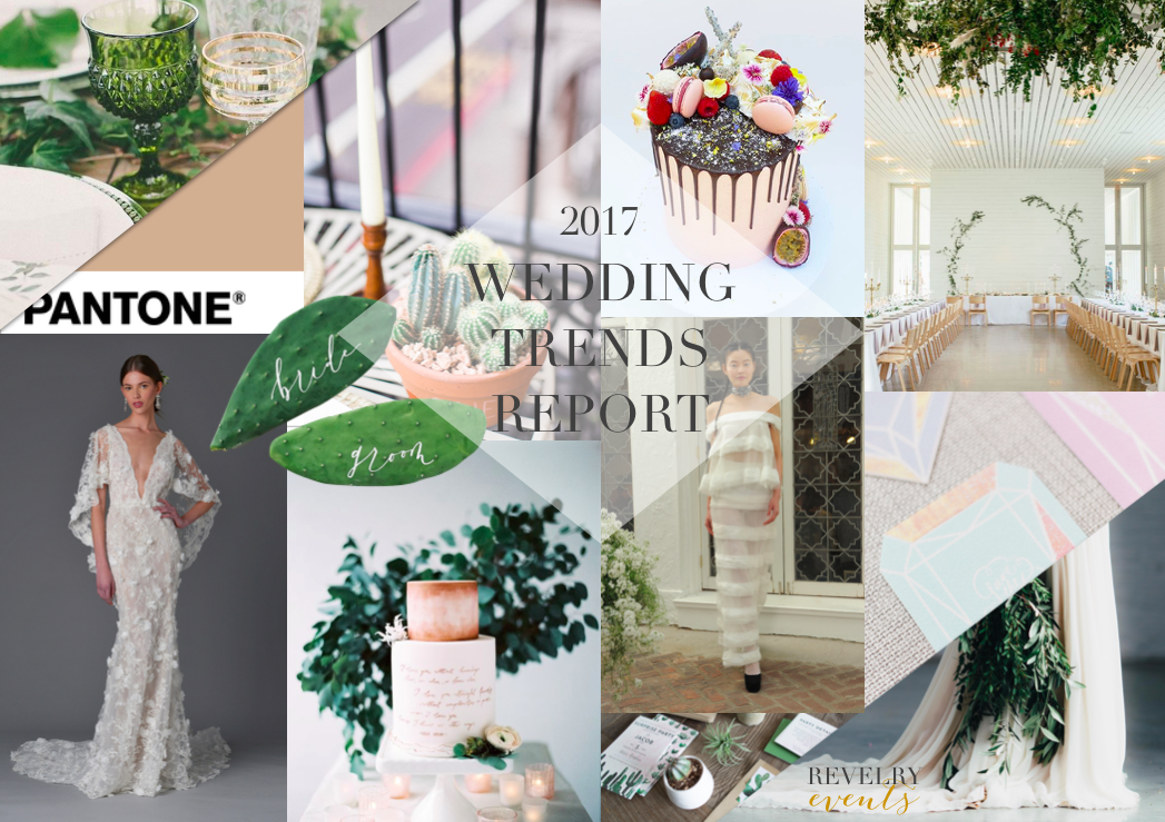 wedding trend report 2017