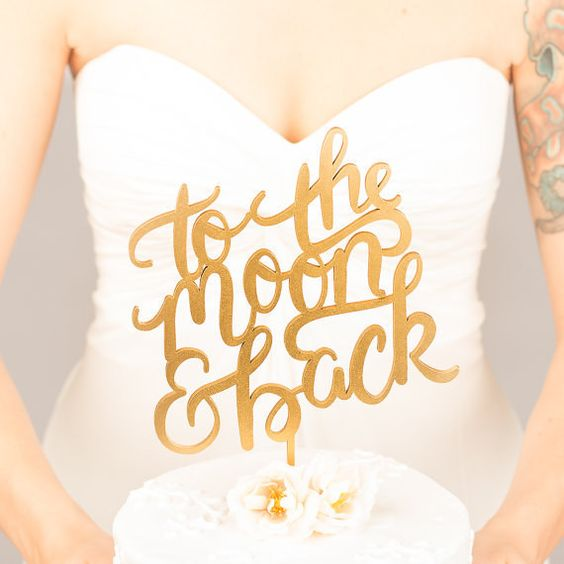 wedding inspiration ideas theme stars moon space