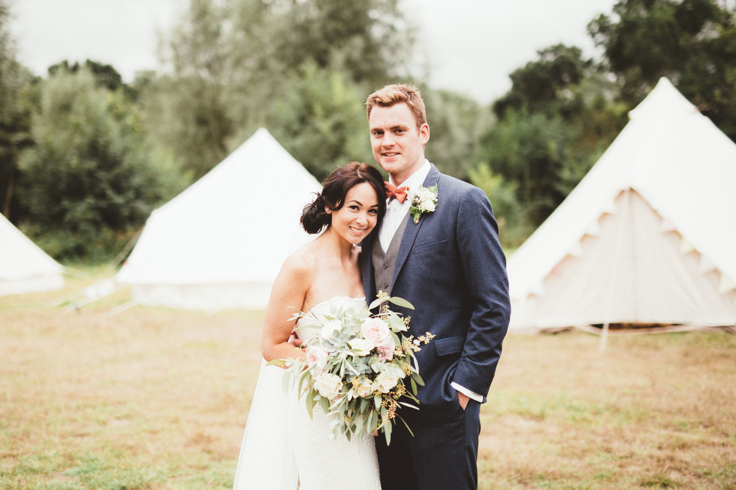 wedding planners in london glamping