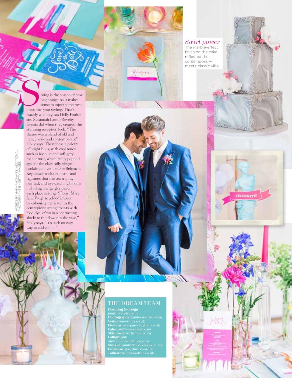 creative wedding planner london revelry events