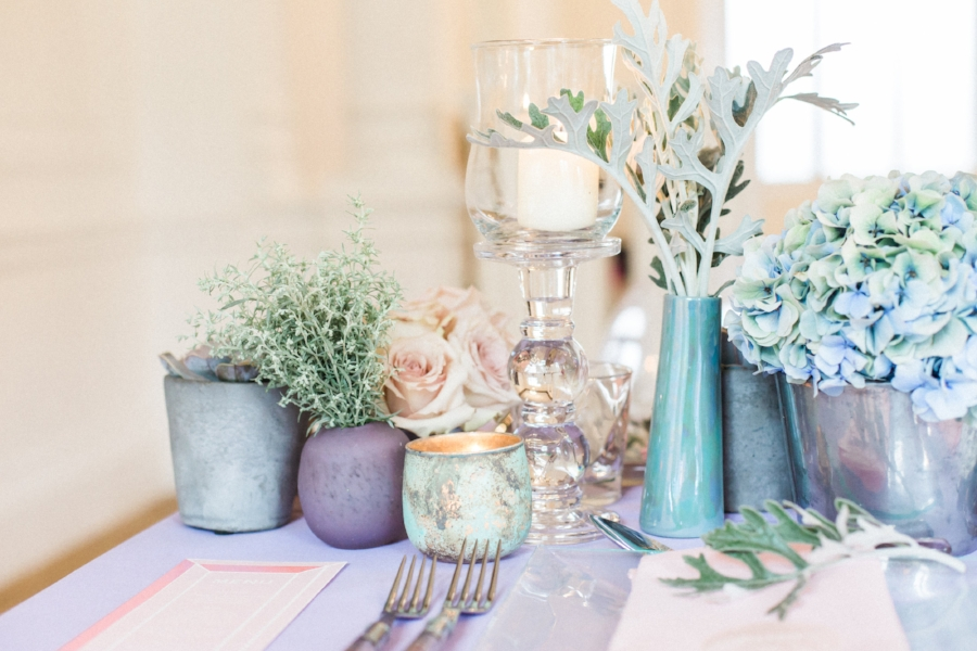 iridescent wedding trend