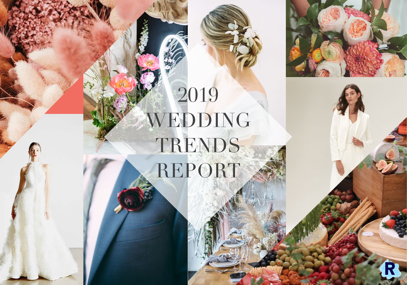 2019 Wedding Trends.Cool Creative London Wedding Planners Revelry Events