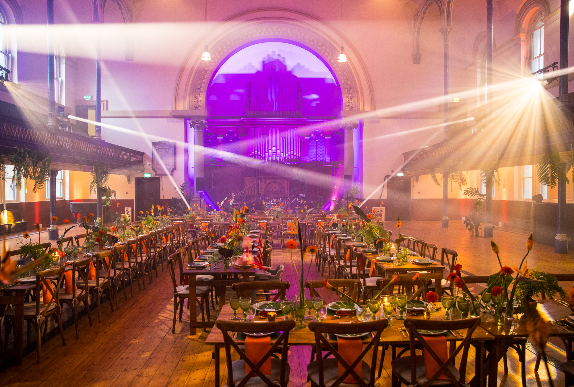 creative wedding planner london revelry