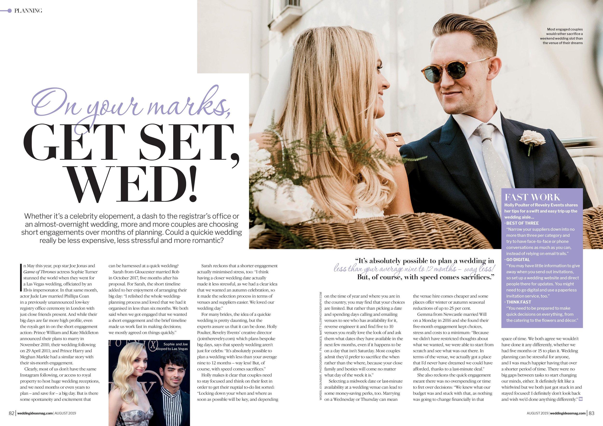 best wedding planner london scotland