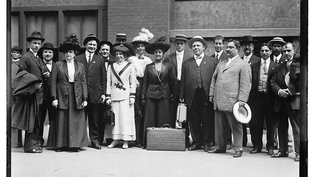 Delegates to Bull Moose Convention, Syracuse   , Library of congress