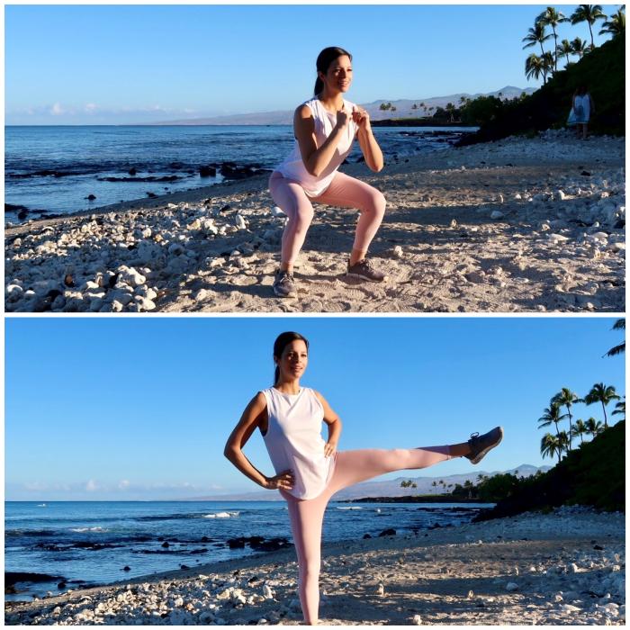 15 Squat + Lateral Leg Lifts