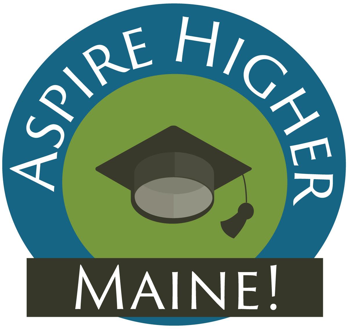 aspire higher maine logo