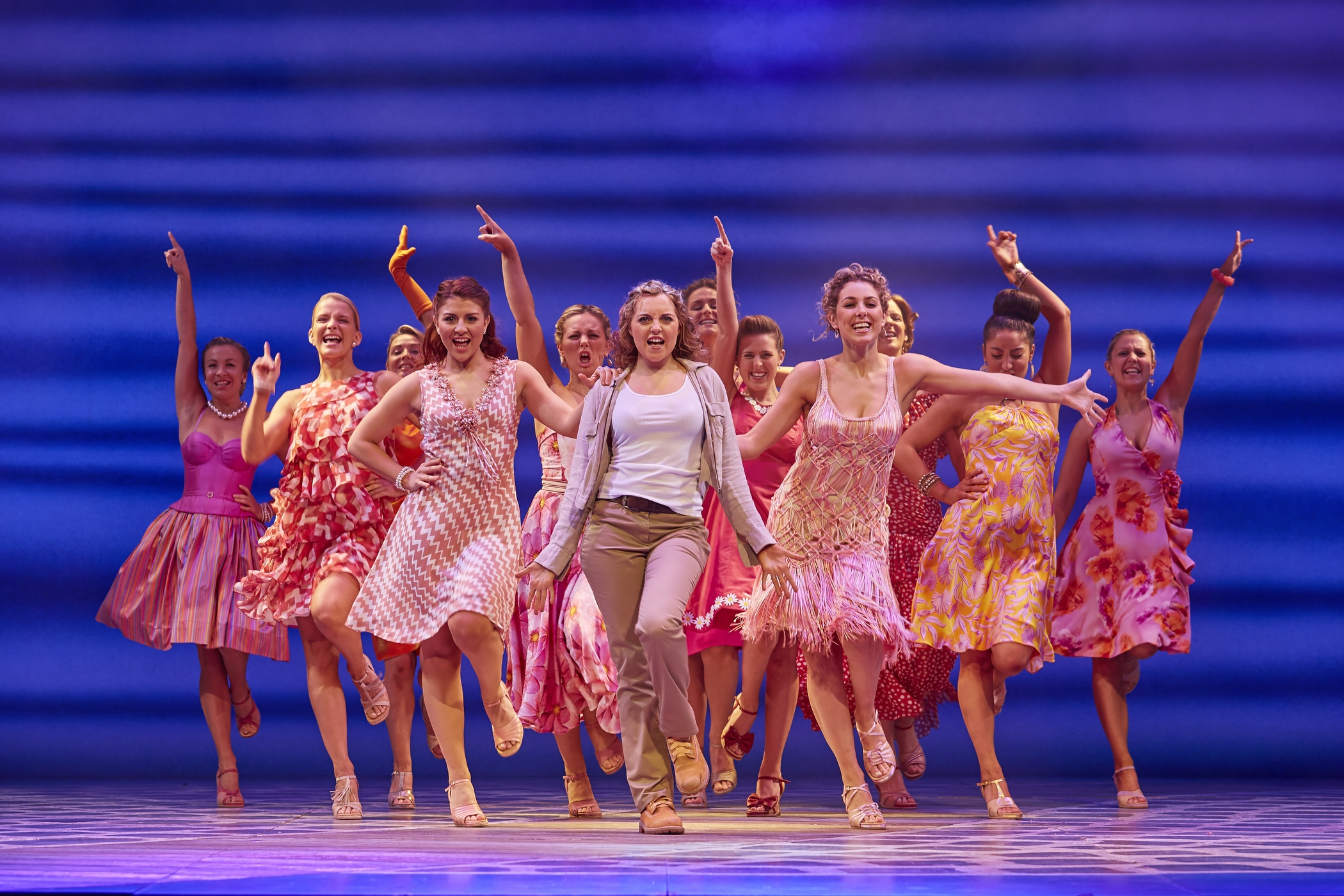 Mamma Mia!  , International Tour, Liverpool