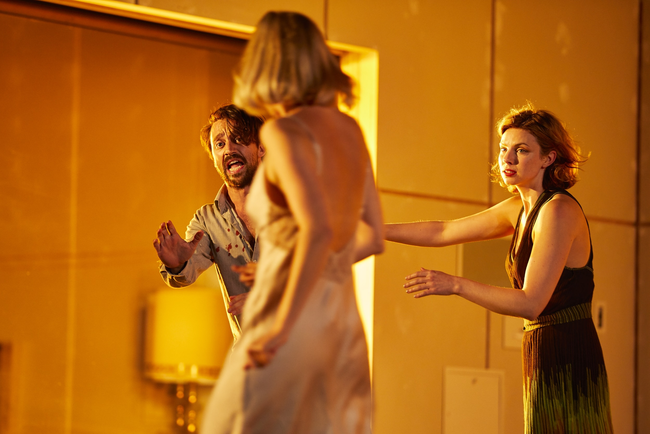 Hedda Gabler  , UK Tour, NT Production, London   Richard Pyros,   Lizzy Watts,   Annabel Bates