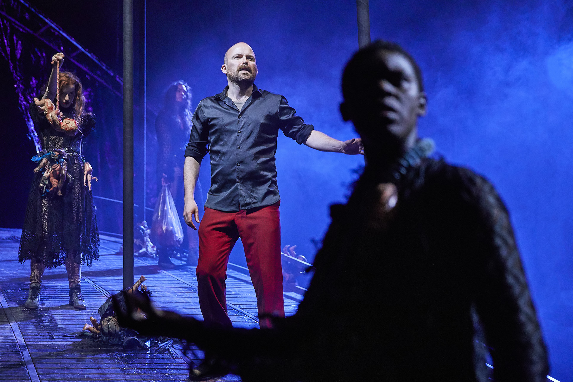 Macbeth  ,  National Theatre, London    Rory Kinnear