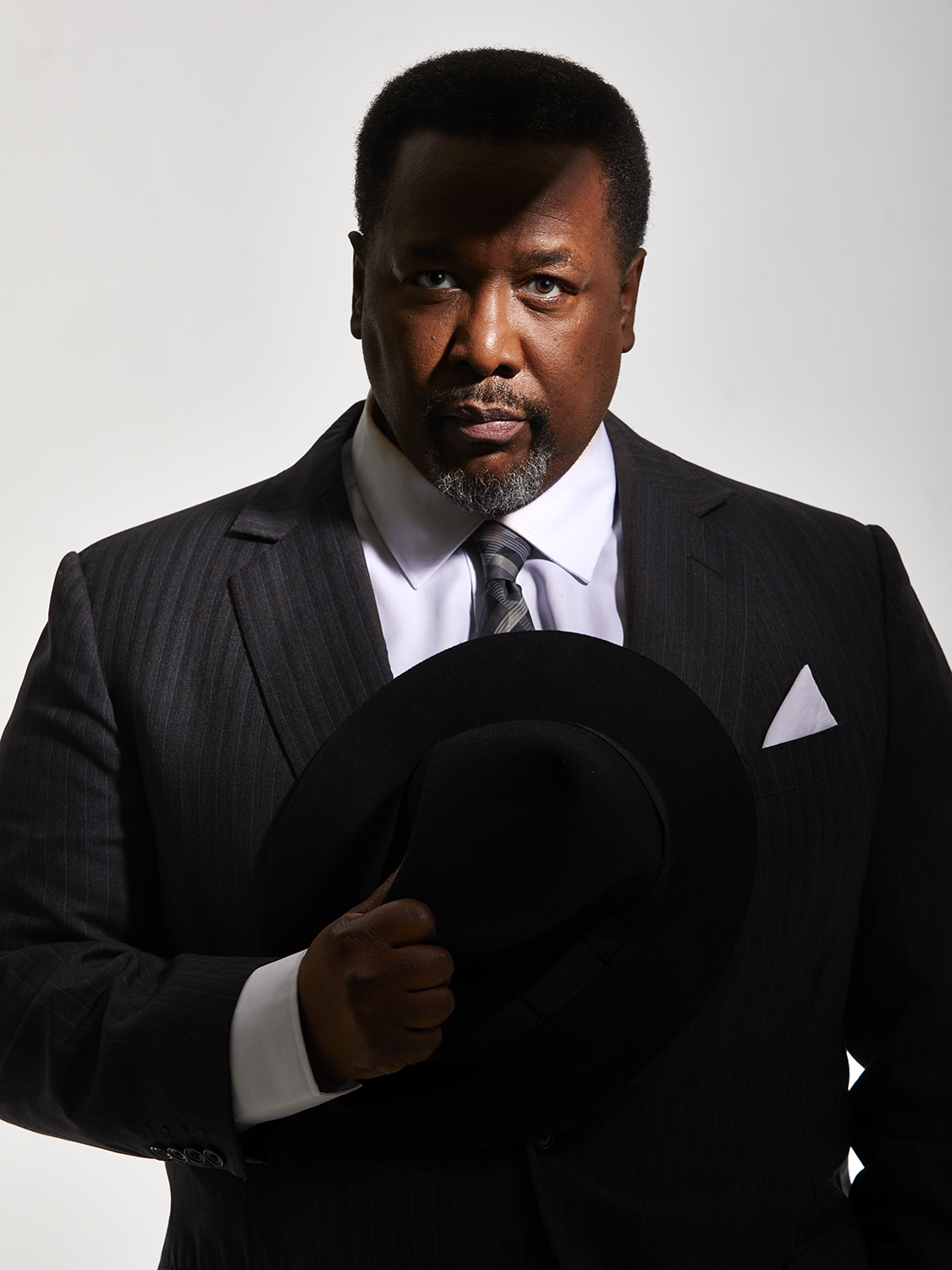 Wendell Pierce     Death of a Salesman , Poster Shot,  Young Vic , London