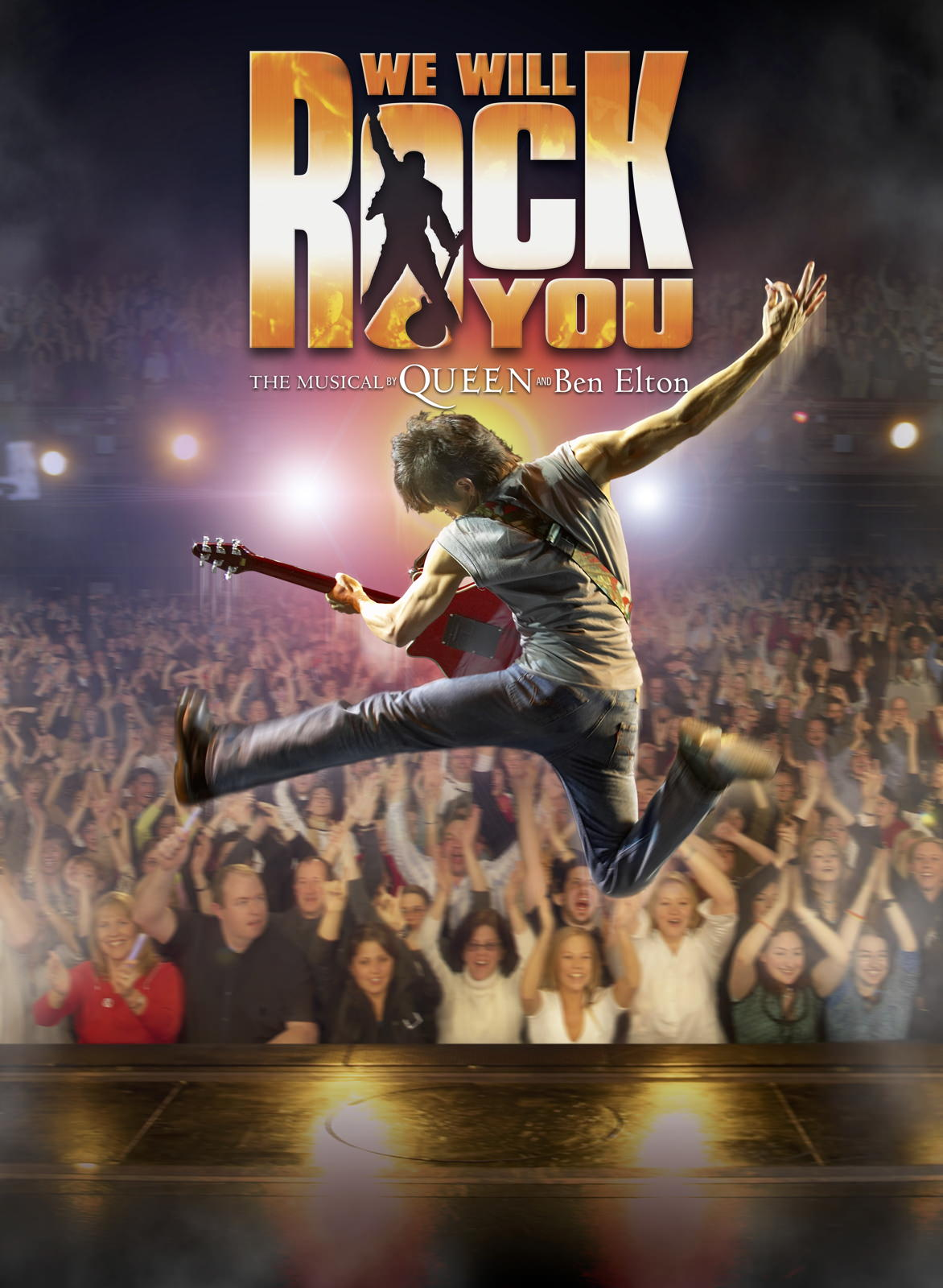 We Will Rock You , Dominion Theatre, London  Poster Shot
