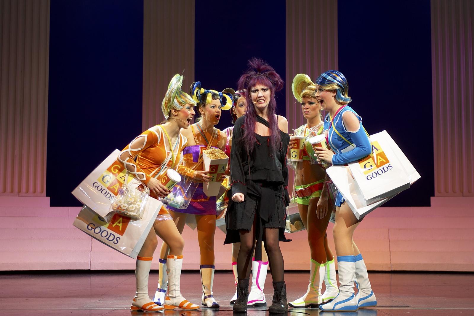 We Will Rock You  , Dominion Theatre, London, 2005