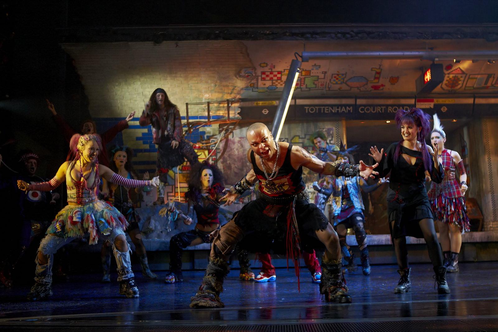 We Will Rock You  , Dominion Theatre, London, 2011