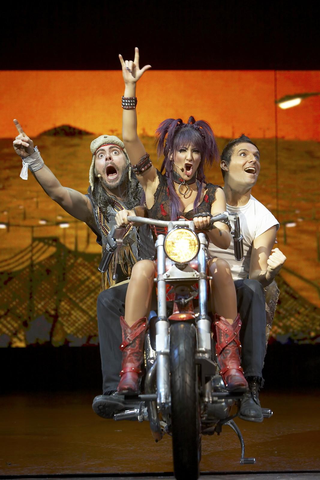 We Will Rock You  , Dominion Theatre, London, 2008