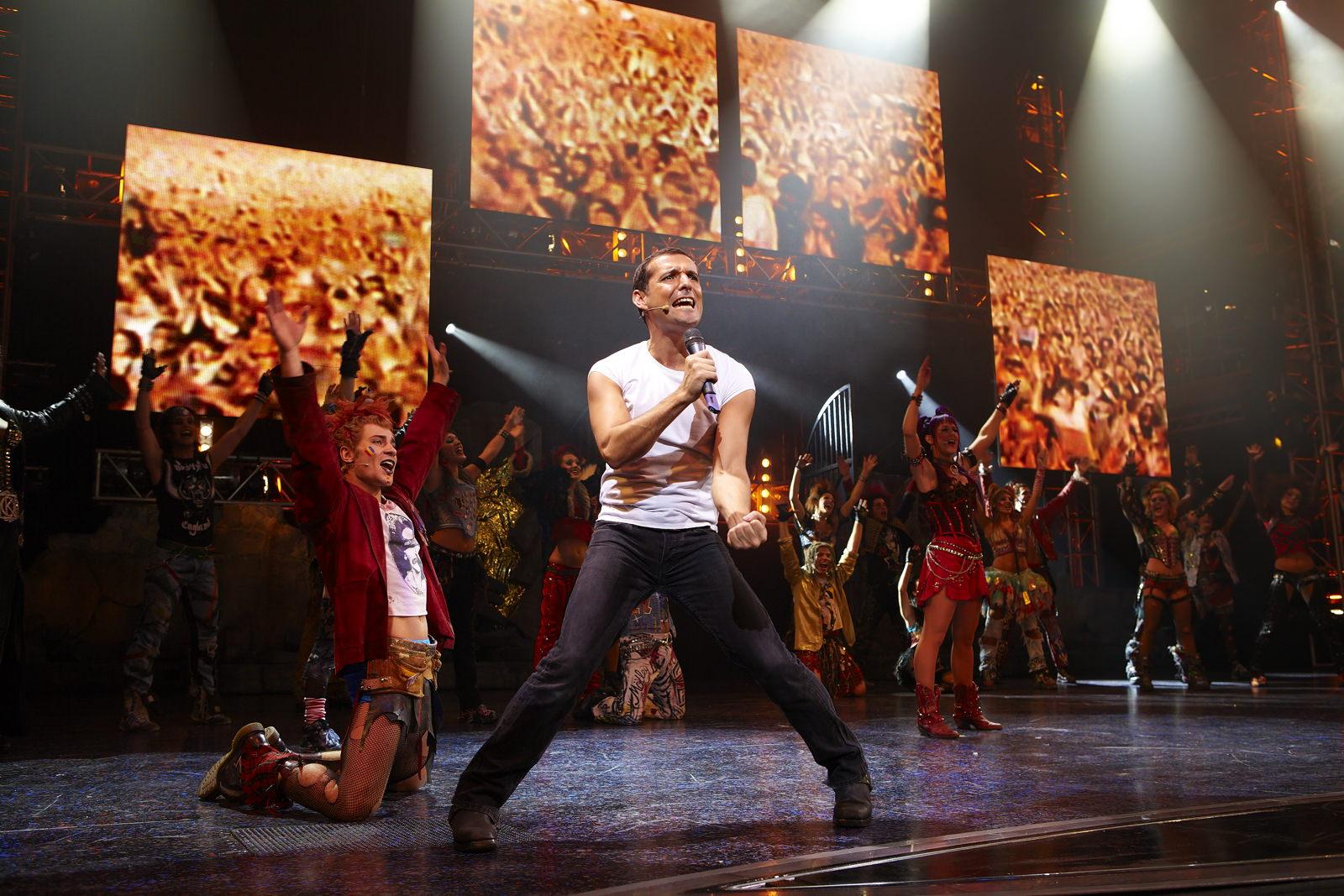 We Will Rock You  , Dominion Theatre, London, 2010