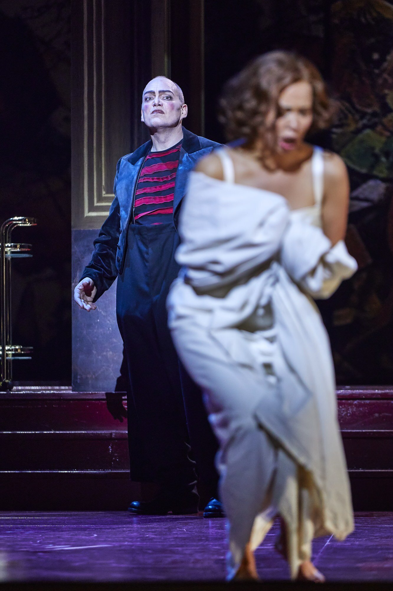 Rigoletto , Staatsoper unter den Linden, Berlin   Christopher Maltman ,  Nadine Sierra