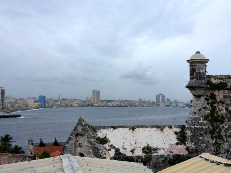 Havana across the water, has been protected by this fort, Morro Castle, for over 500 years.
