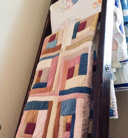 Ann finished her incredibly beautiful, meaningful quilt well before the end of the year!
