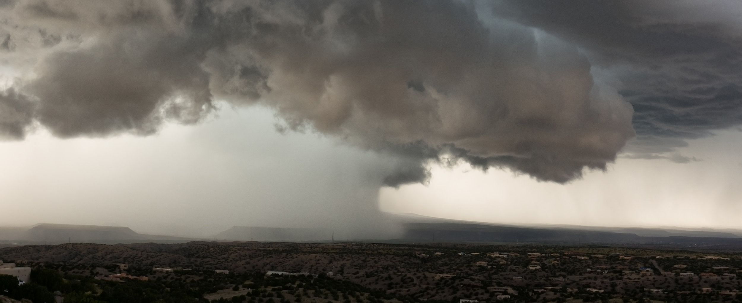 Photo by John Fowler - Storm over New Mexico