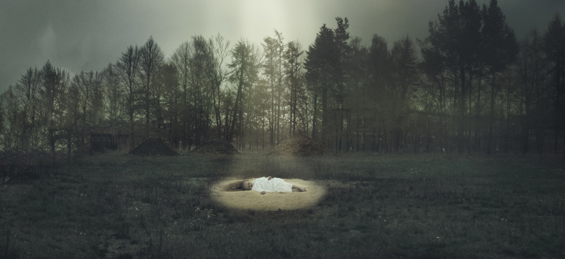 1. The girl in the Light Circle, 2014