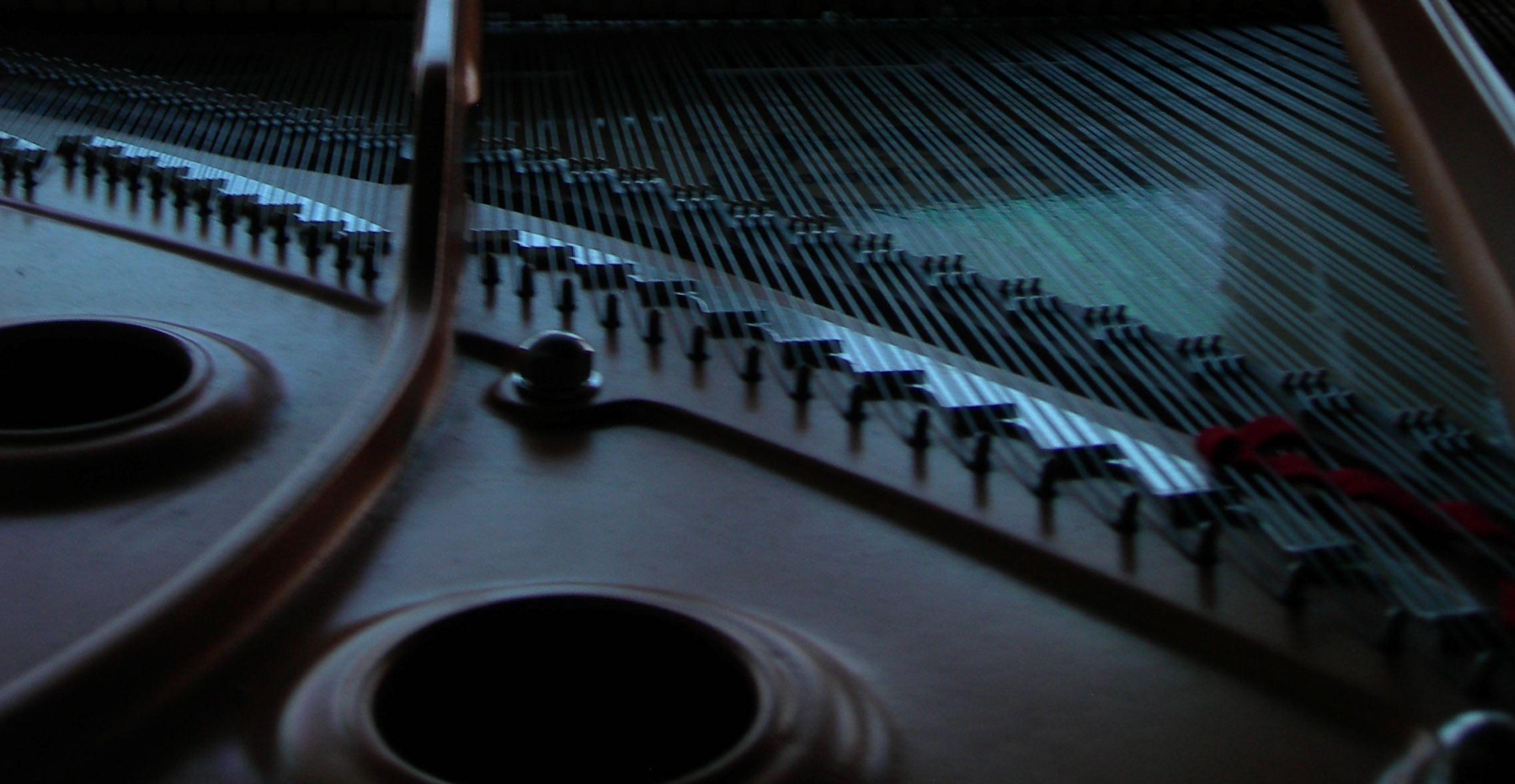 Piano in Our Studio