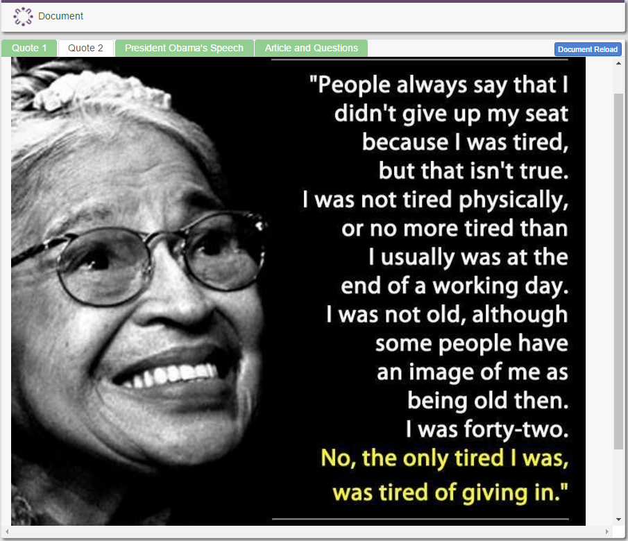 The courage to take action: A lesson from Rosa Parks     Rosa parks: 100th birthday  Who was Rosa Parks?