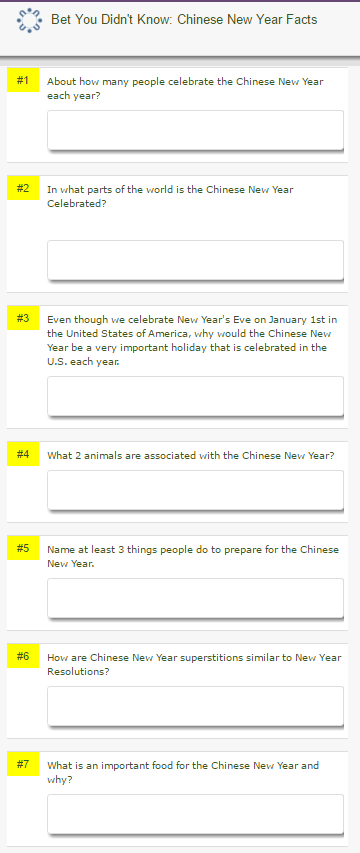 Bet You Didn't Know Chinese New Year Facts  answer key.PNG