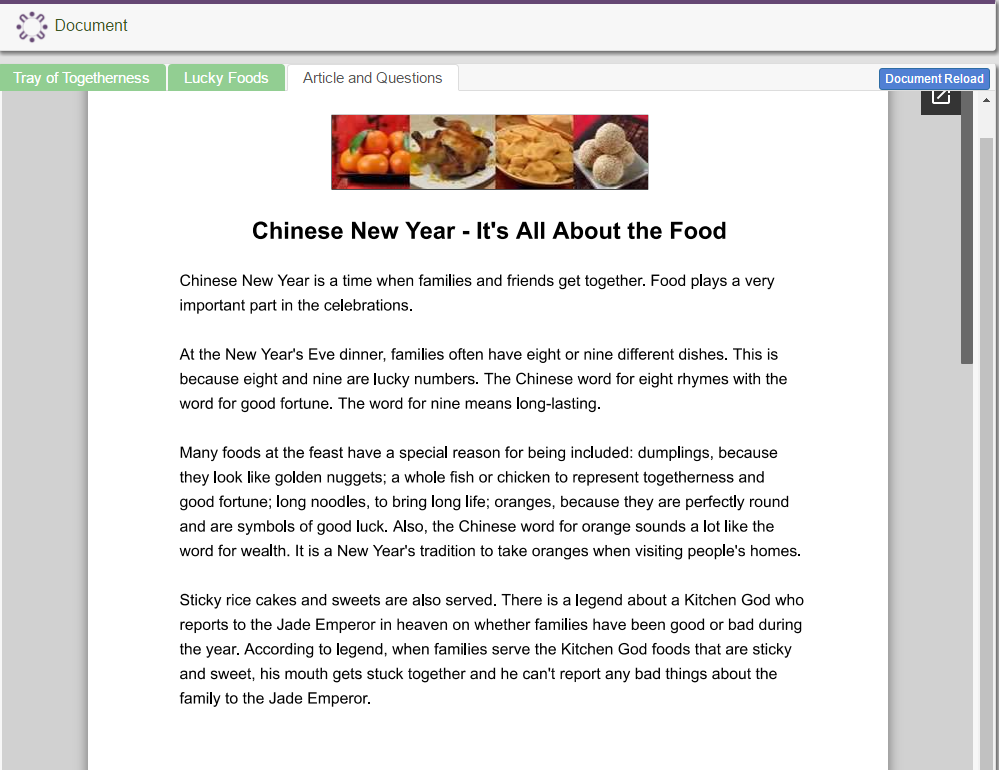Chinese New Year- It's All About the Food
