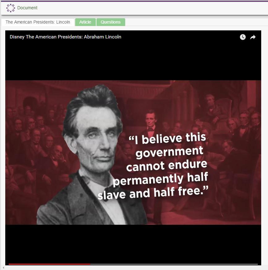 U.S. Presidents- Abraham Lincoln