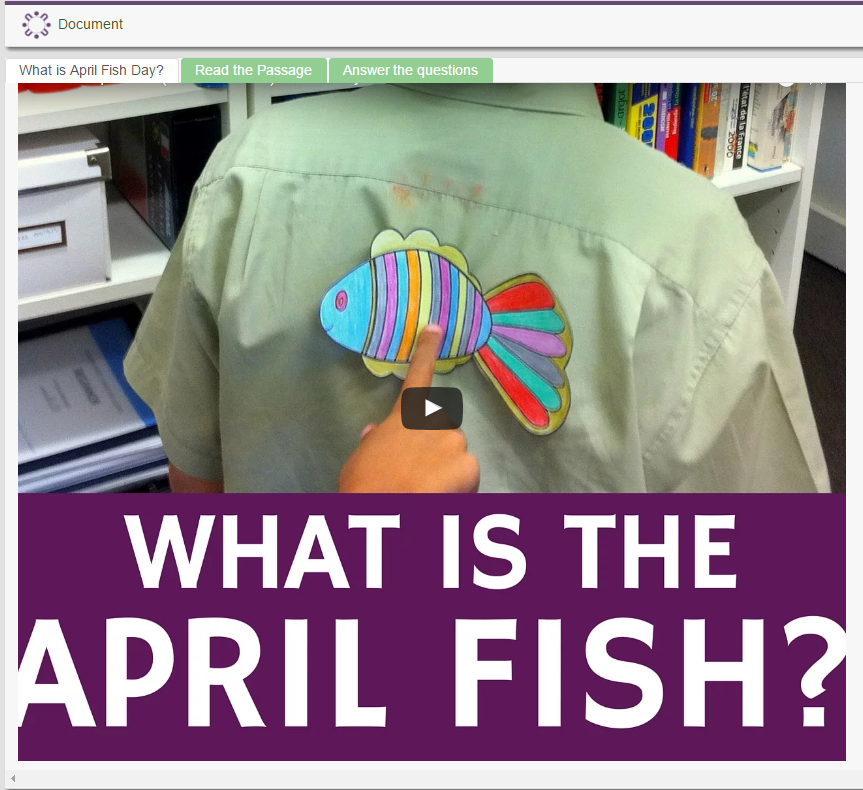 What is April Fish Day?