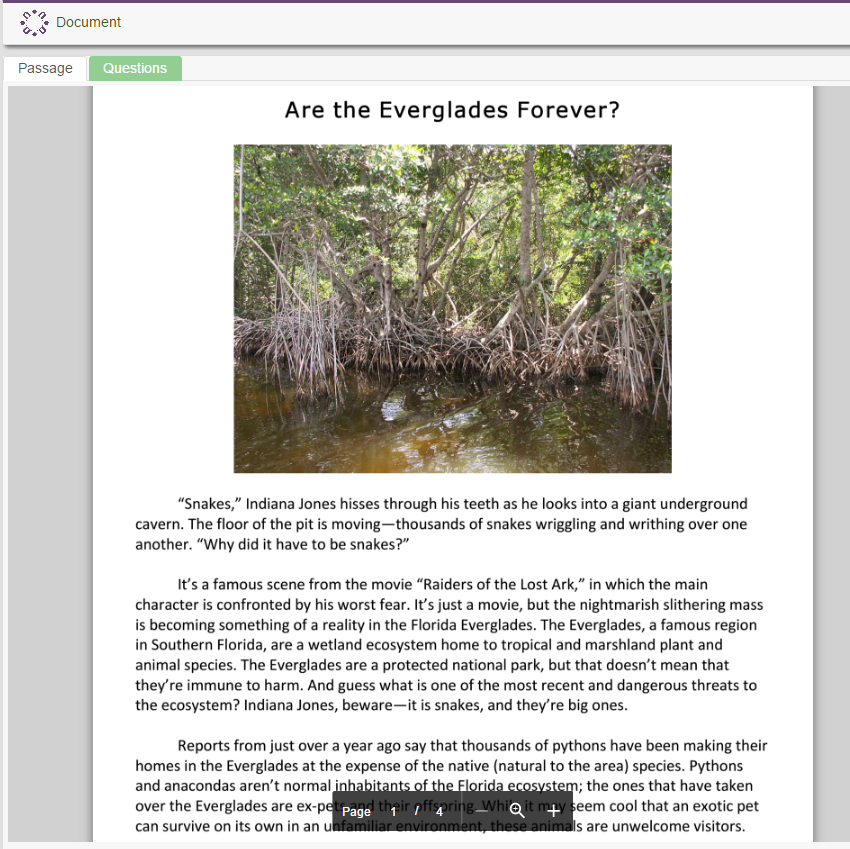 Are the Everglades Forever? (Earth day)