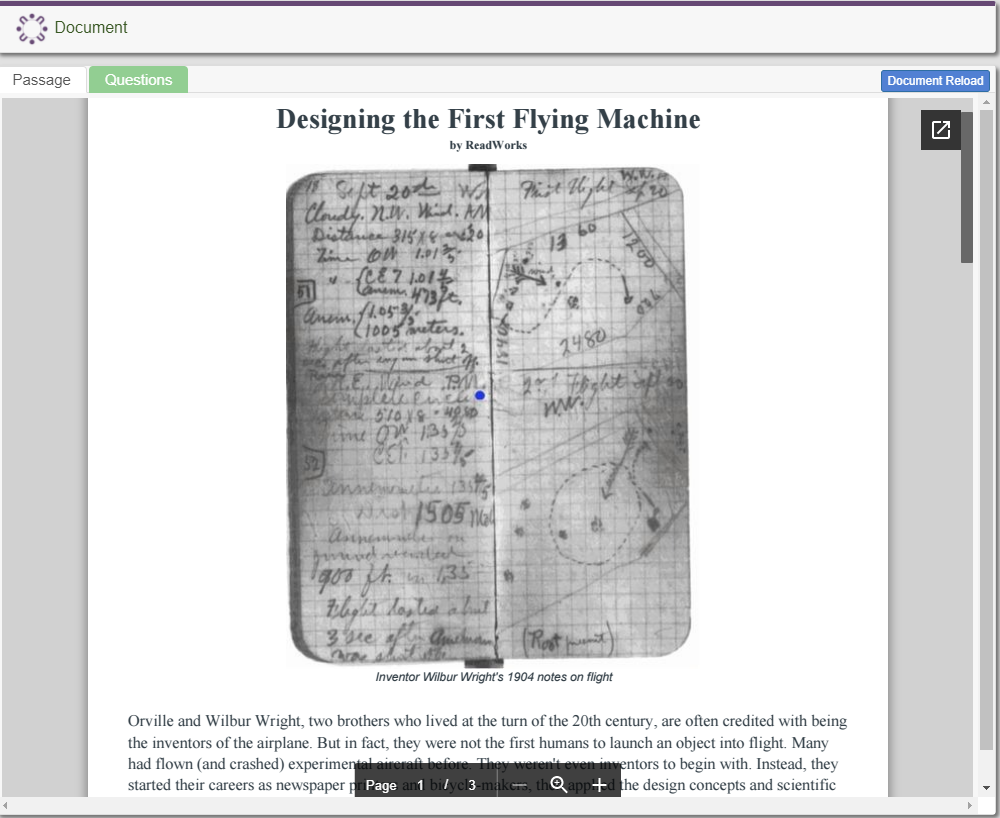 Designing the First Flying Machine