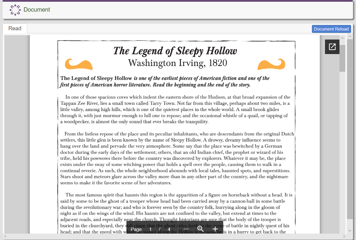 The Legend of Sleep Hollow (Halloween)