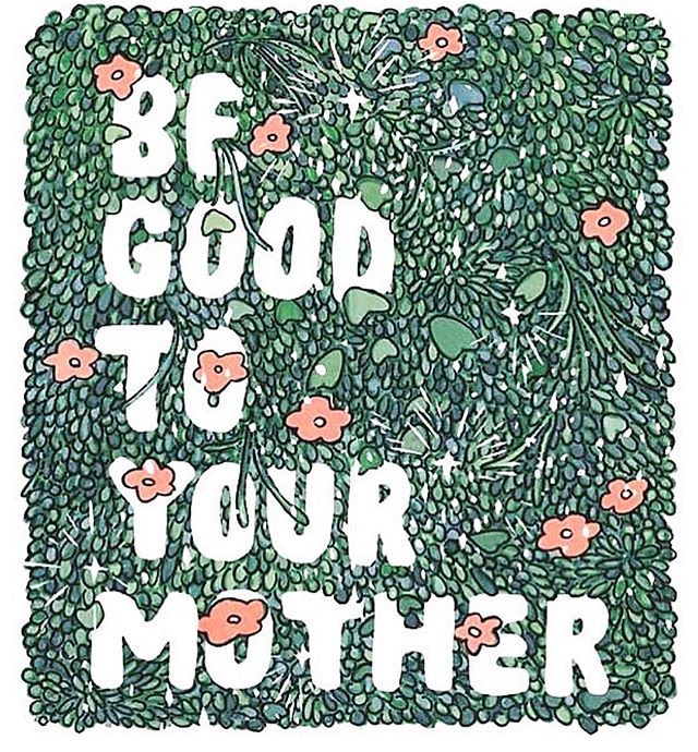 🌎 In honor of Earth Day week, Mother's Day, & pretty much every day, just a simple reminder to be kind to our only home... & make sure to call your Mama🌸. What is your best practice to keep our earth clean? 📷: @thesill
