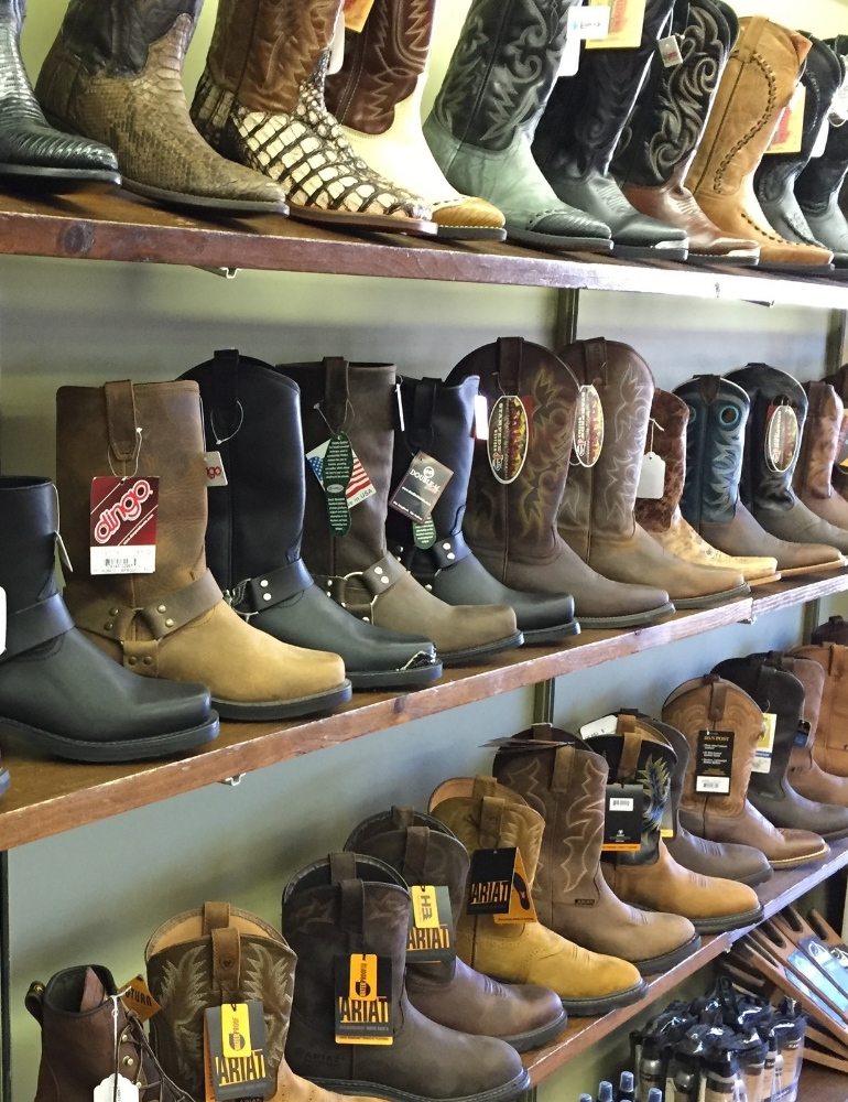 Men's Cowboy Boots and Biker Boots