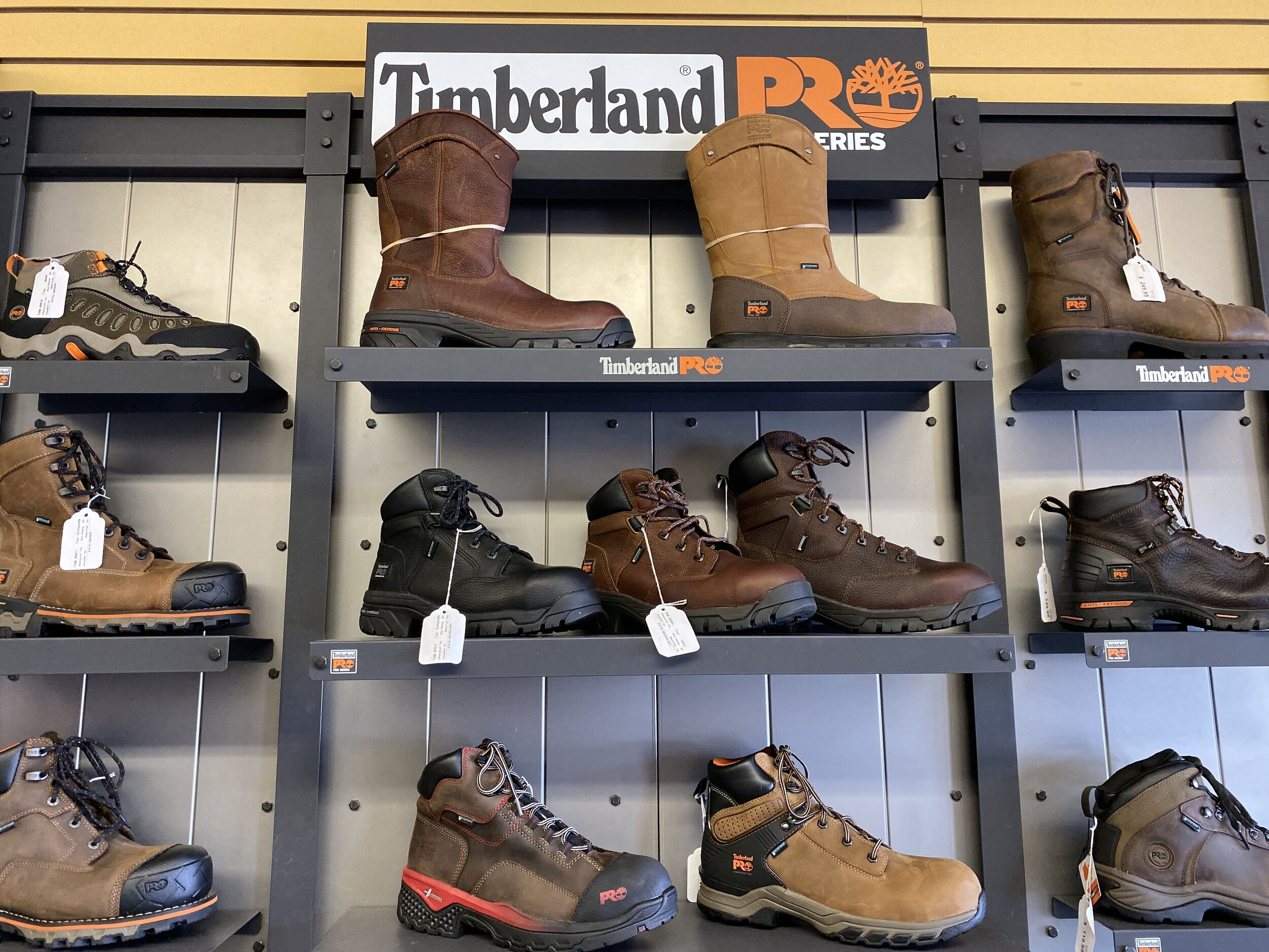 work boot store near me