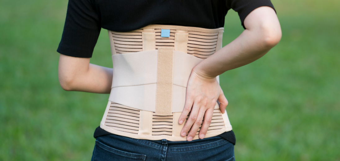 Life Force Physiotherapy Etibicoke Ontario back brace.png